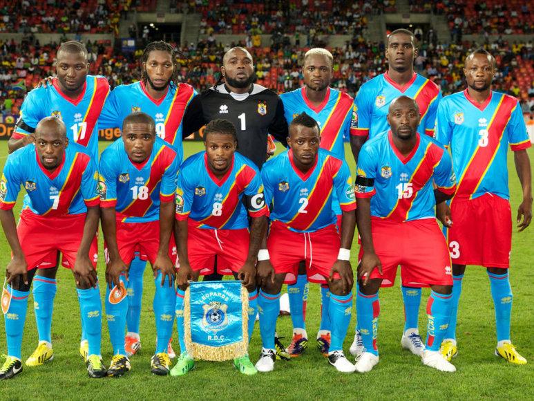 """""""Scanpix"""" nuotr./Kongo Demokratinės Respublikos futbolininkai"""