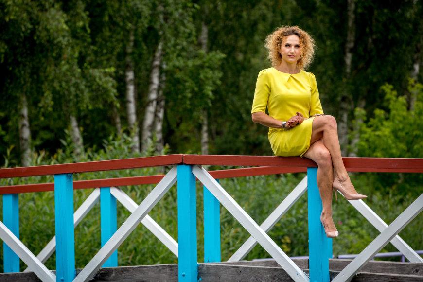 Vidmanto Balkūno / 15min nuotr./Arboristė Inga Gaidelytė