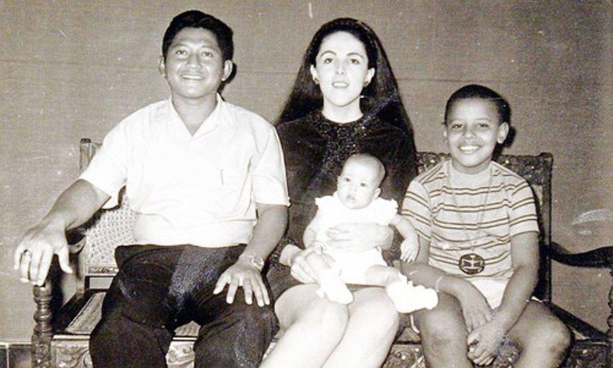 Vida Press nuotr./Barackas Obama su mama