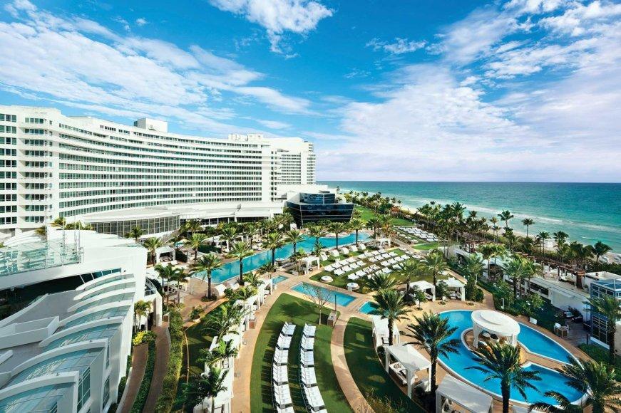 """Fontainebleau Suites"" nuotr./""Fontainebleau Suites"" viešbutis Floridos valstijoje"