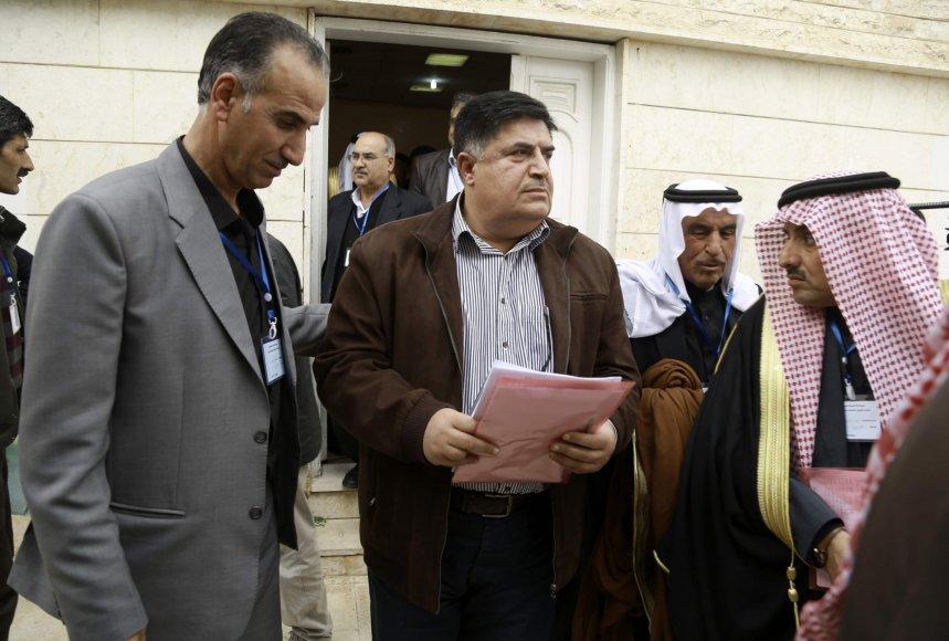 """AFP/""""Scanpix"""" nuotr./Kurdai paskelbė federacinį regioną Sirijos šiaurėje"""