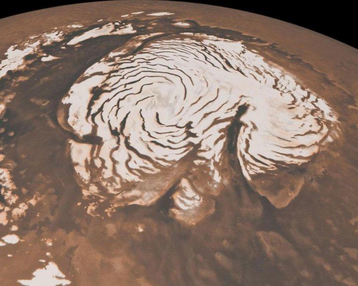 """AFP/""""Scanpix"""" nuotr./Marso paviršius"""