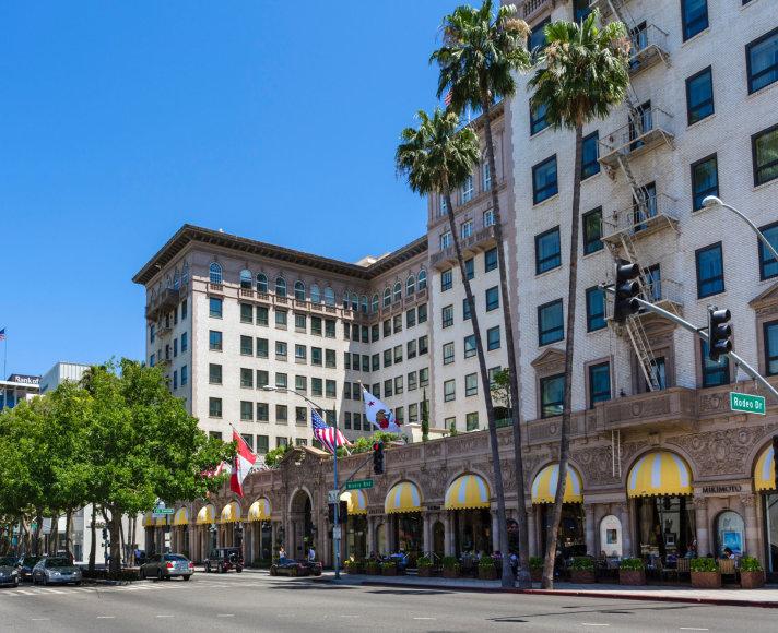 """Vida Press nuotr./""""The Beverly Wilshire"""" viešbutis Los Andžele"""