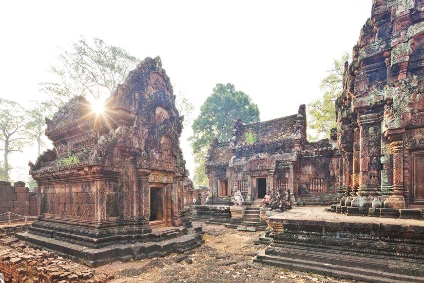 Vida Press nuotr./Banteai Srėjaus šventykla