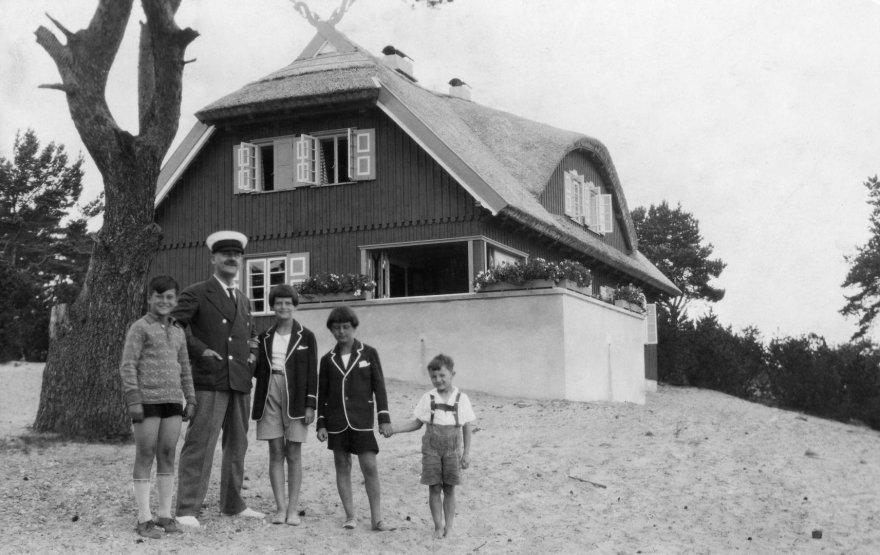 Vida Press nuotr./Thomas Mannas 1930-06-01 Nidoje