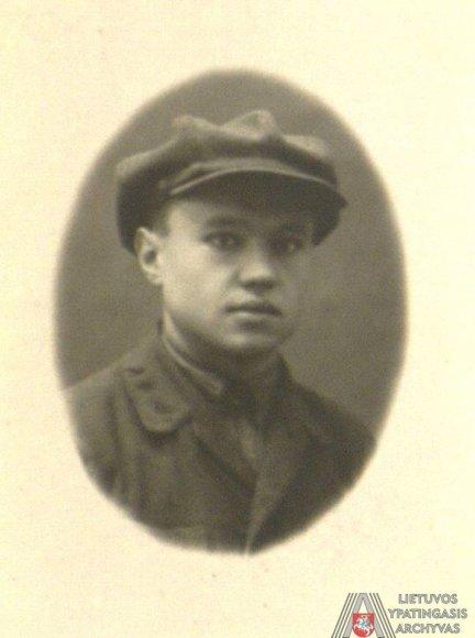 Lietuvos ypatingojo archyvo nuotr./ Antanas Sniečkus. 1926 m.