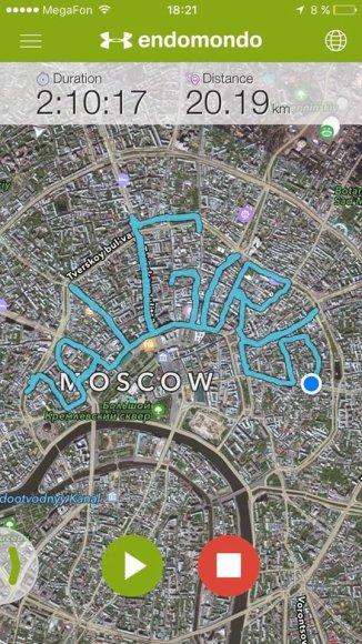 """Žalgirio"" trasa Maskvoje"