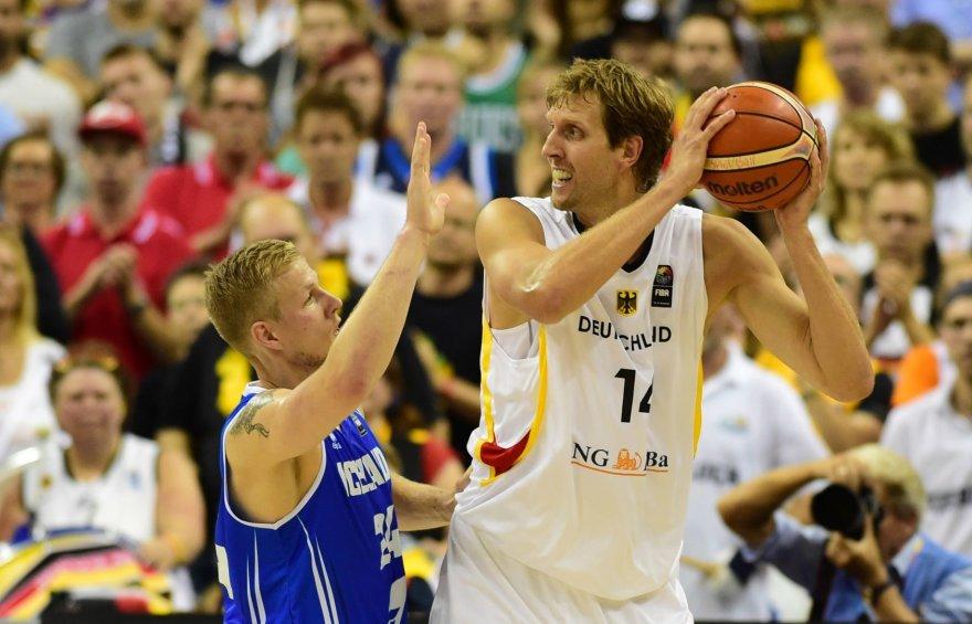 """AFP/""""Scanpix"""" nuotr./Islandijos krepšinio rinktinė"""