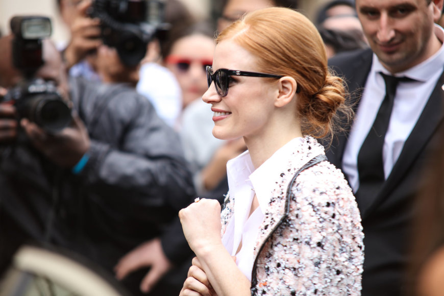 Vida Press nuotr./Jessica Chastain
