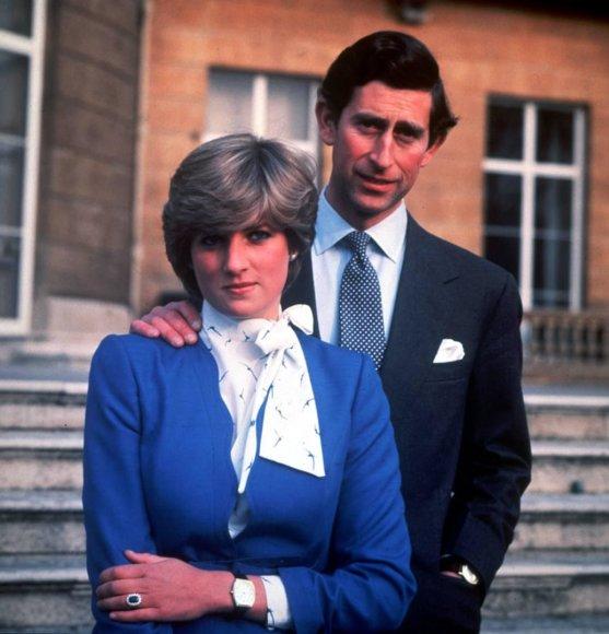 Vida Press nuotr./Princesė Diana ir princas Charlesas