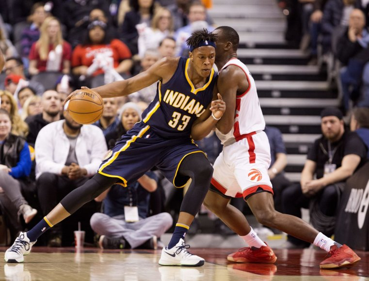 """Scanpix"" nuotr./NBA: ""Toronto Raptors"" – ""Indiana Pacers"""