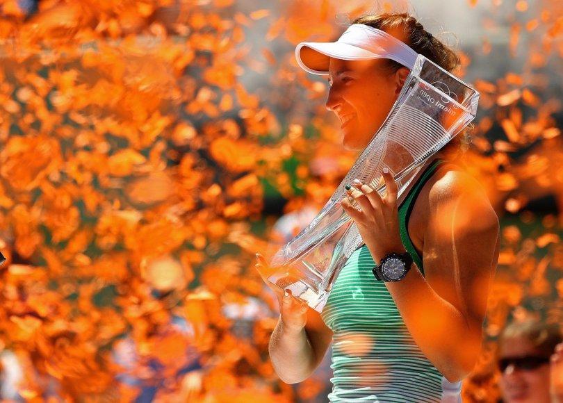 """Scanpix"" nuotr./""Miami Open"" finalas: Viktorija Azarenka – Svetlana Kuznetsova"
