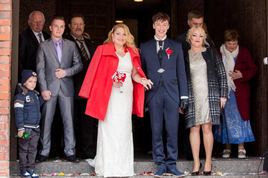 Mato Baranausko nuotr./Donato Švirėno ir jo išrinktosios Kristinos vestuvės