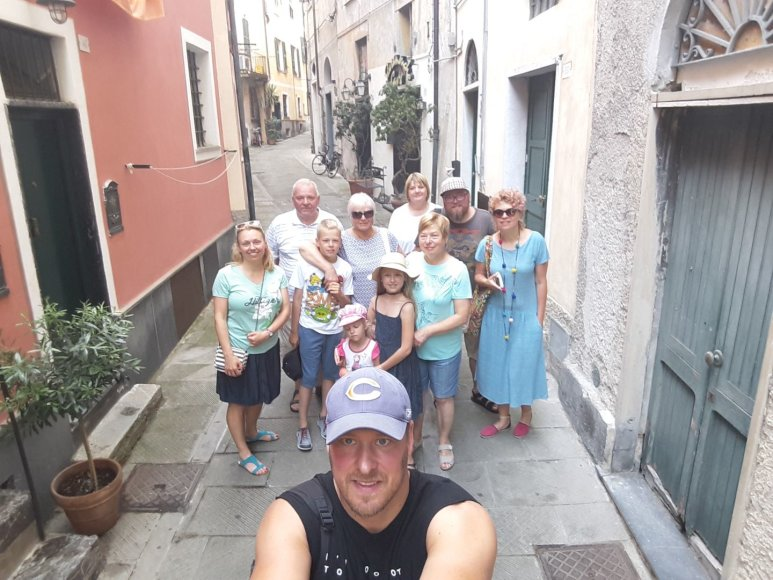 Asmeninio albumo nuotr./Violeta ir Vilius Tarasovai su šeima