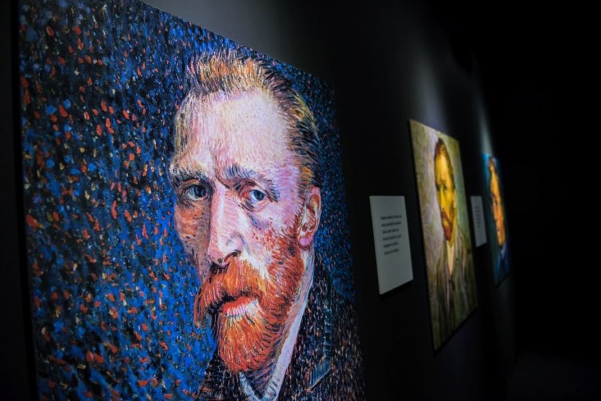 Arno Mažylio nuotr./Vincento van Gogho paroda Vilniuje