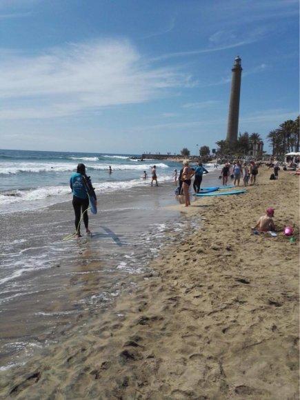 Maspalomas banglentininkų paplūdimys
