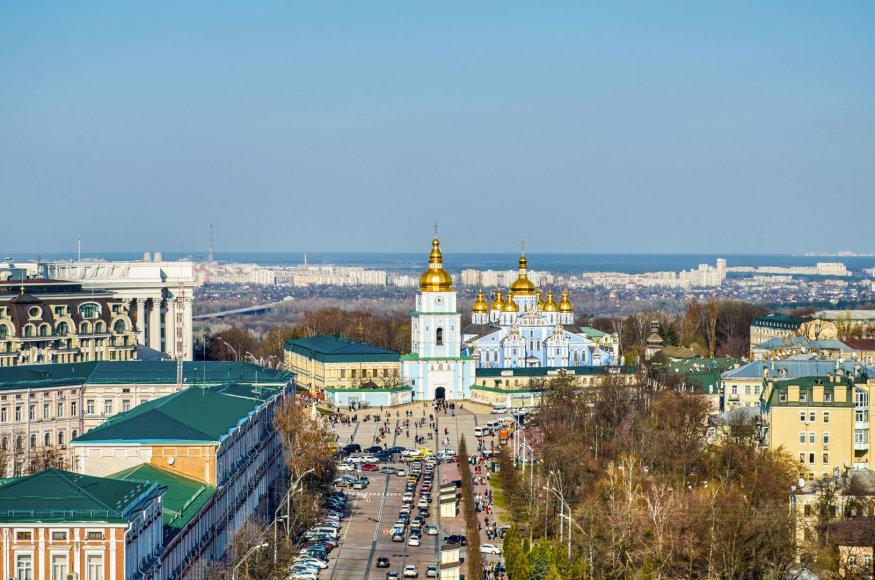 123rf.com/Auksinių stogų Kijevas