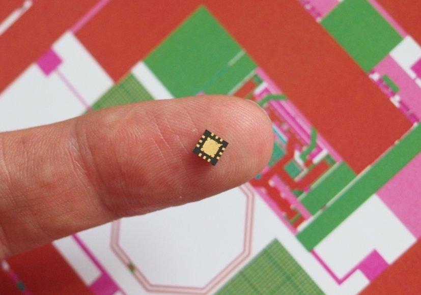 VGTU elektronikos inzinieriu sukurtas ismanusis lustas