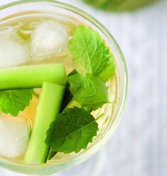 Agurkų ir imbierų limonadas