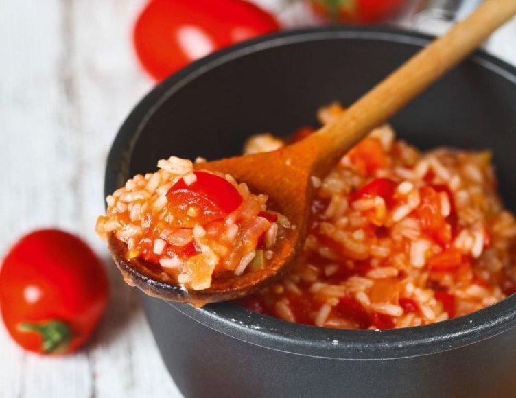 Pomidorų Mišrainė Su Ryžiais Receptas Maistas 15minlt