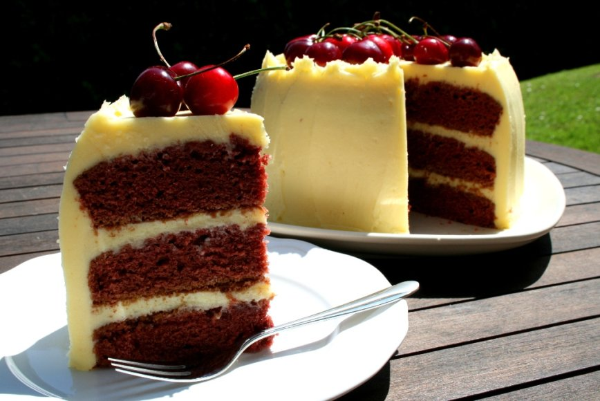 Raudonojo aksomo tortas