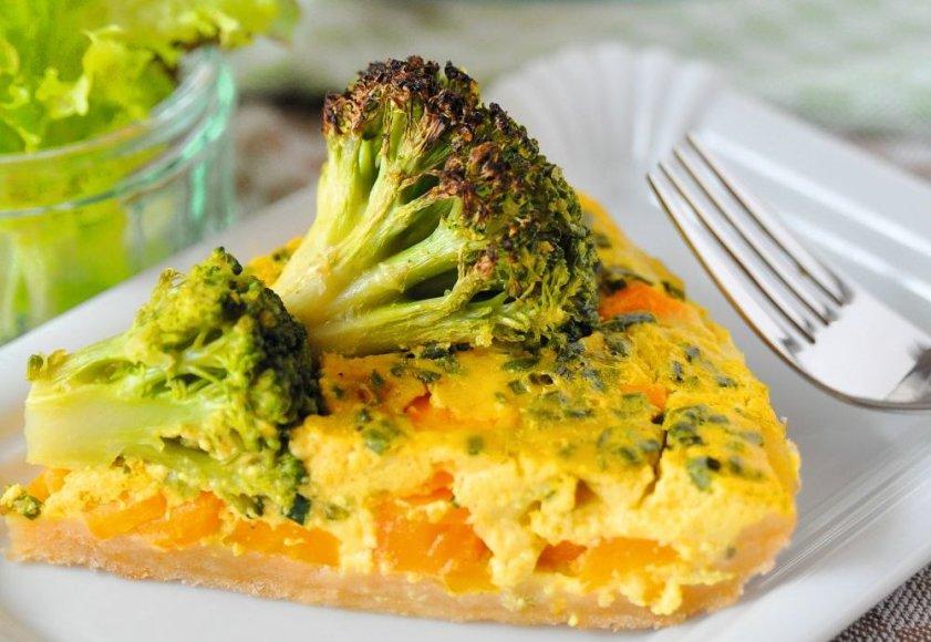 Brokolių ir morkų užkandis