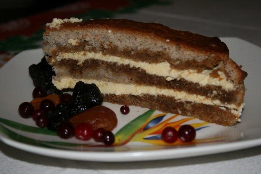Ruginių miltų tortas