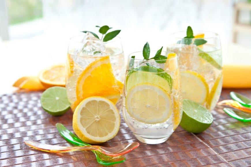 Žaliosios arbatos limonadas