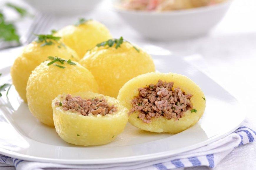 Bulvių kukuliai su kepenėlėmis