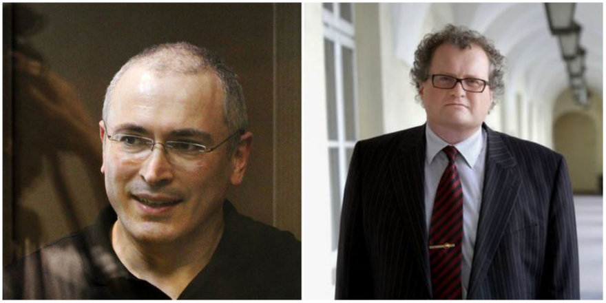 Michailas Chodorkovskis ir Leonidas Donskis