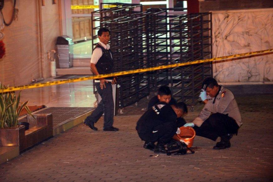 Indonezijoje per sprogimą prie budistų šventyklos sužeistas vienas žmogus