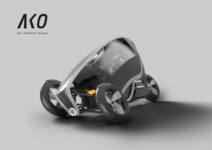 Produkto dizaino kategorijoje pagrindinį prizą pelnė Lukas Avėnas (VDA VF)