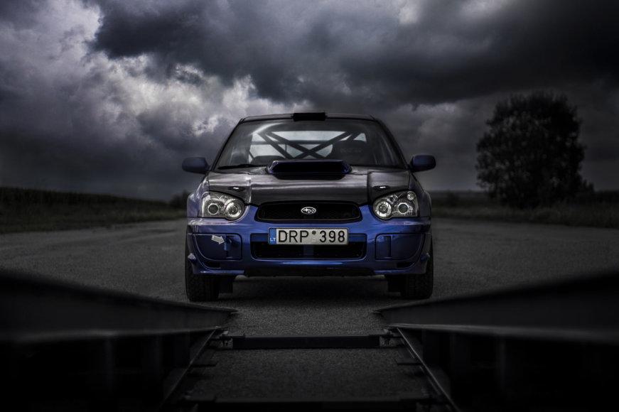 """Tomo Pošiūno nuotr./Renaldo Šeinausko """"Subaru Impreza WRX"""""""