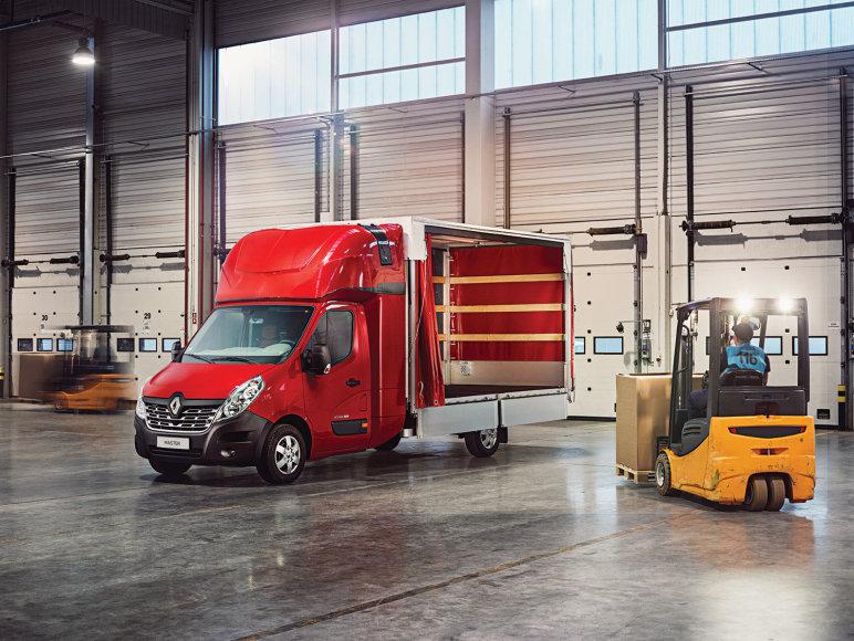 """""""Renault"""" nuotr./""""Renault"""" komercinis transportas"""