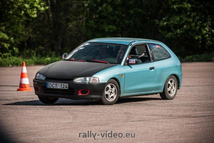 Justo Lengvino / rally-video.eu nuotr./Varžybų akimirka