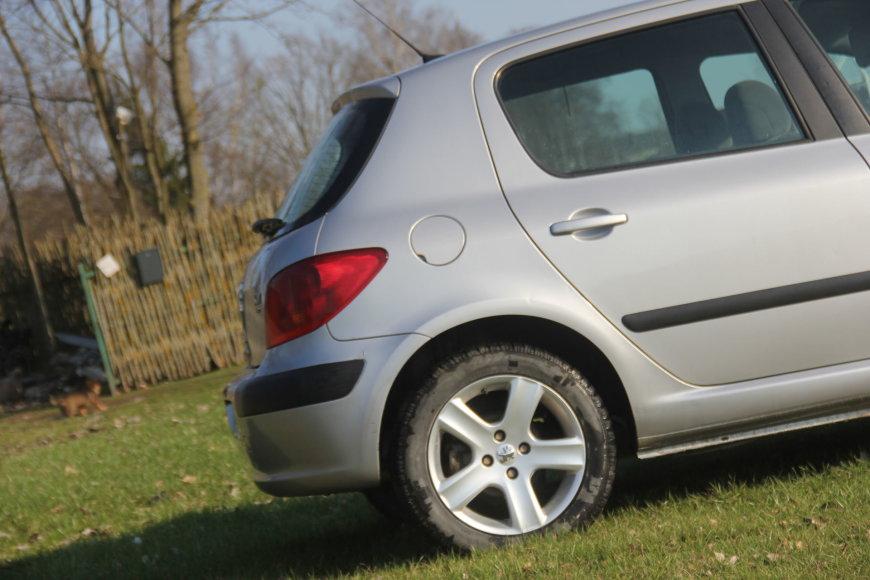 """Tomo Markelevičiaus nuotr./Naudotas """"Peugeot 307"""""""