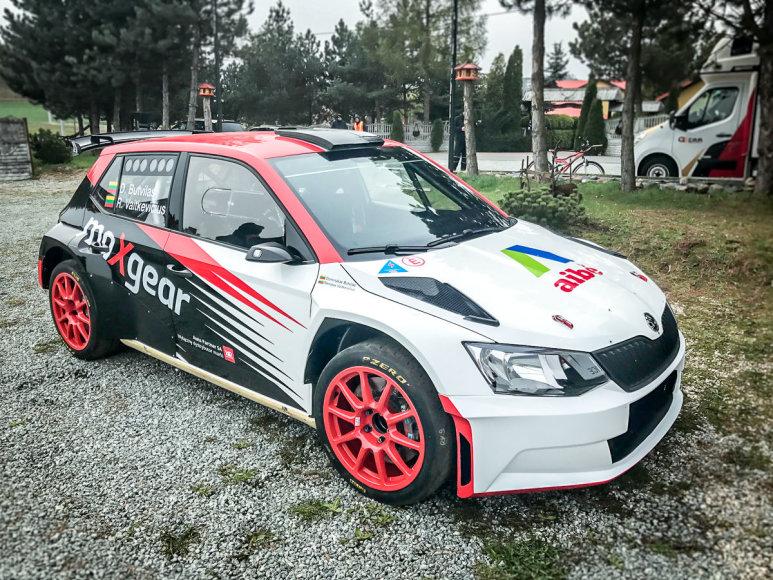 "Komandos nuotr./""Škoda Fabia R5"""