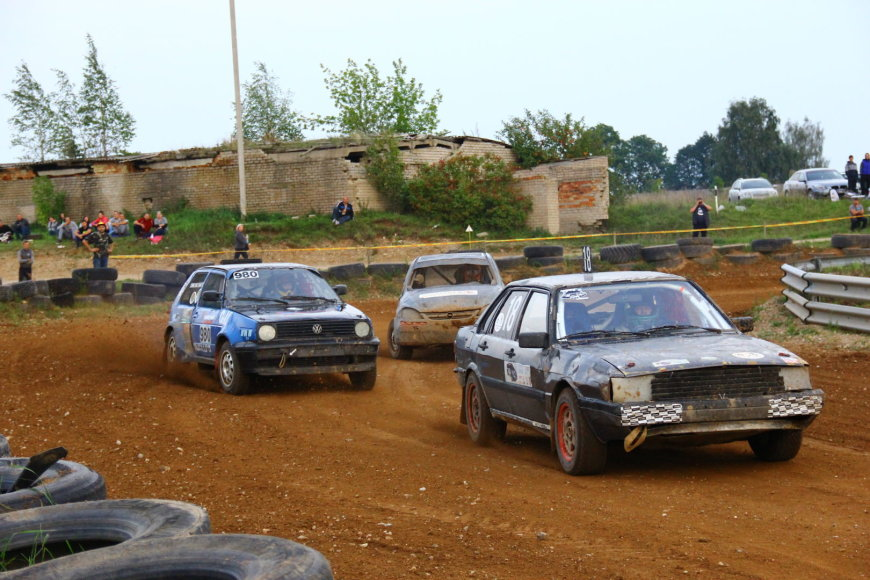 Vaido Markelevičiaus nuotr./Andrius Luščiauskas (Audi) ir Žilvinas Lingė (Volkswagen)