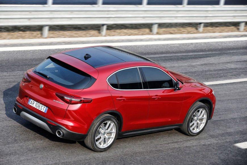Organizatorių nuotr./Alfa Romeo Stelvio