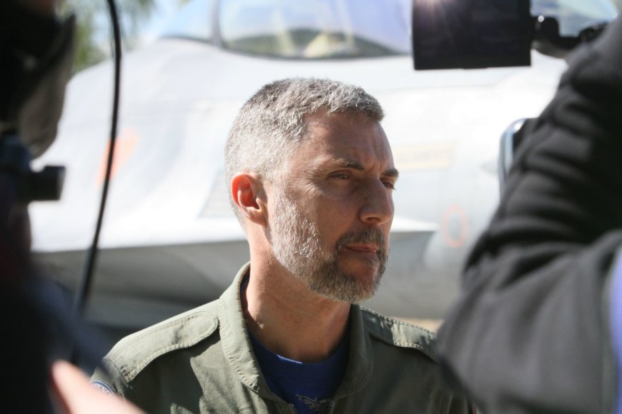 Alvydo Januševičiaus nuotr./NATO misijos pasikeitimas: ispanus keičia portugalai