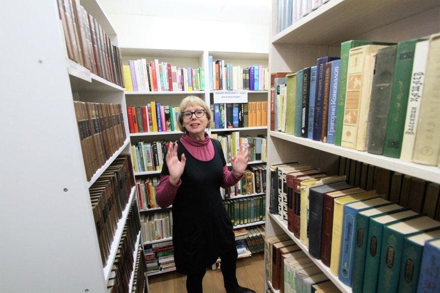 Alvydo Januševičiaus nuotr./Plungės bibliotekos direktorė Violeta Skierienė