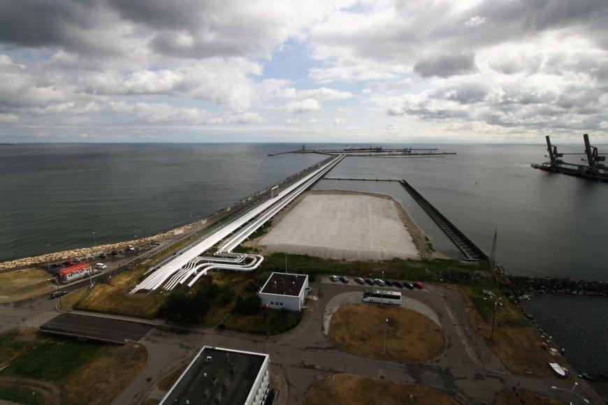Alvydo Januševičiaus nuotr./Gdansko uostas