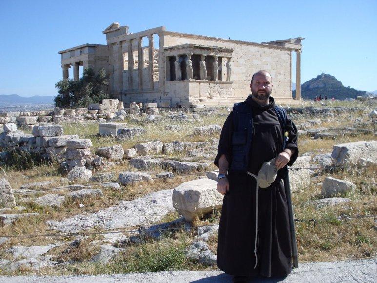 Asmeninio archyvo nuotr./Carlas Bertagninas Graikijoje