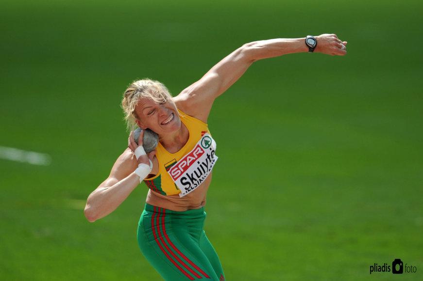 Austra Skujytė baigė savo įspūdingą sportinę karjerą