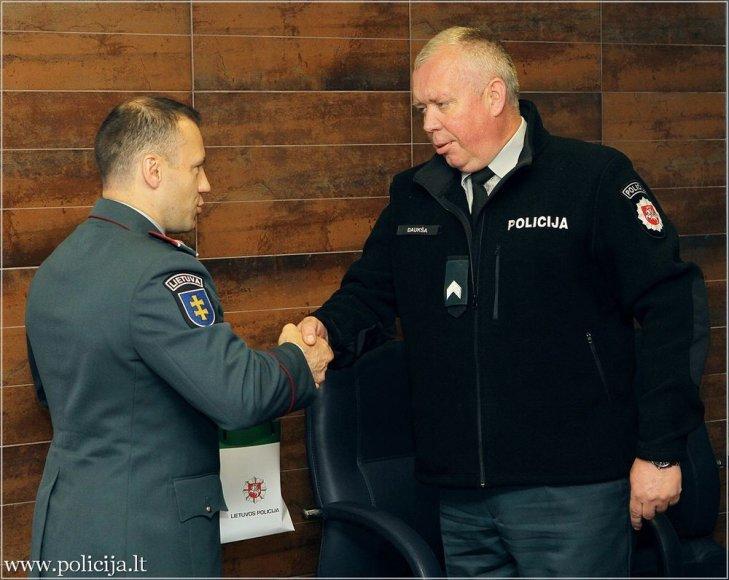 Kauno apskr. VPK nuotr./Kauno apskr. VPK pareigūnų apdovanojimai