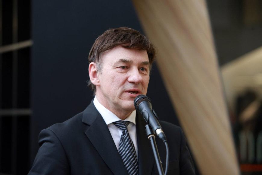Aliaus Koroliovo/15min nuotr./Vytauto Didžiojo universiteto rektorius prof. Juozas Augutis