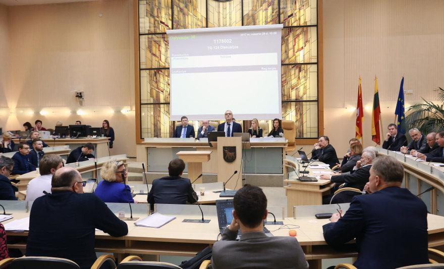 Aliaus Koroliovo/15min nuotr./Kauno miesto savivaldybės tarybos posėdis