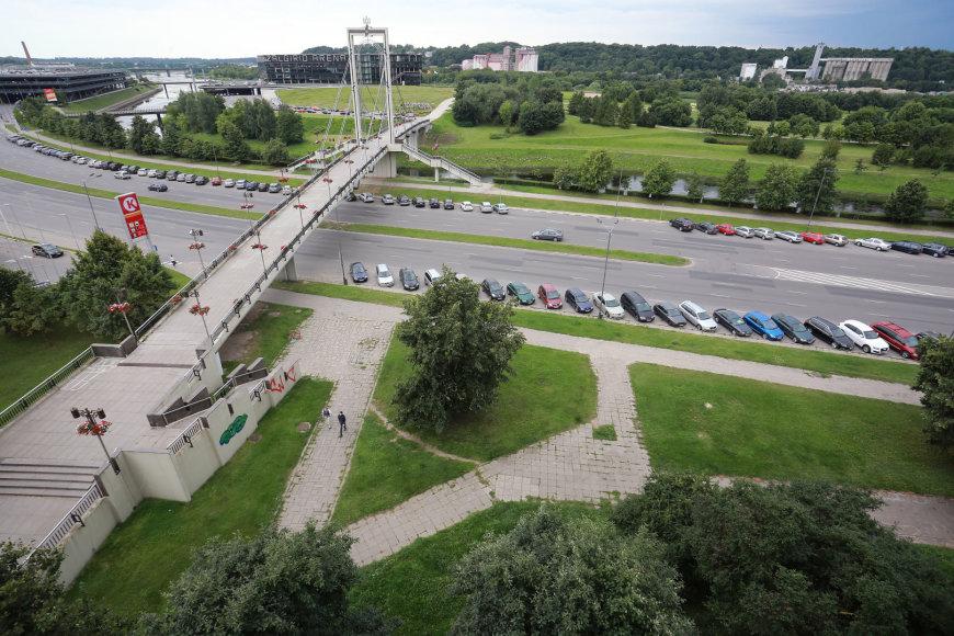 Aliaus Koroliovo/15min nuotr./Vaizdas pro gyventojos langą