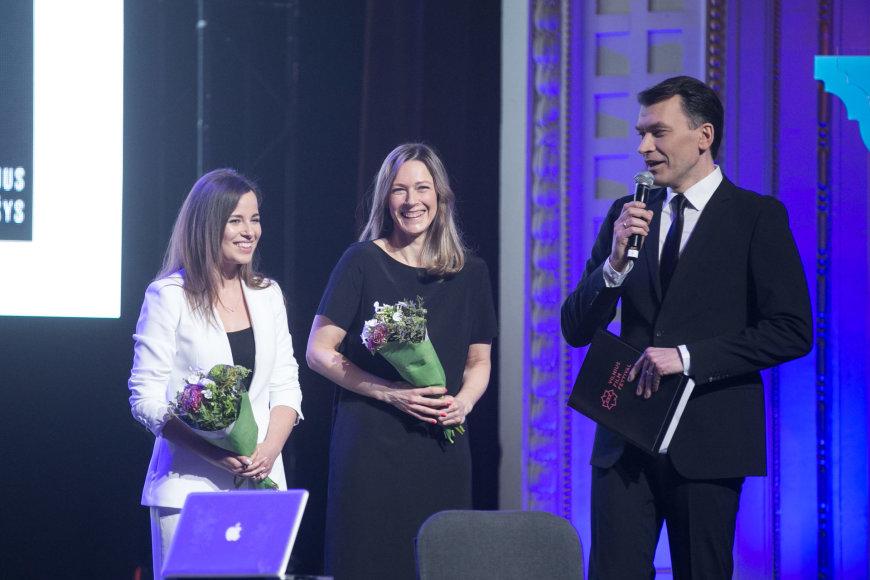 """Žygimanto Gedvilos / 15min nuotr./Festivalio """"Kino pavasaris"""" atidarymo ceremonija"""