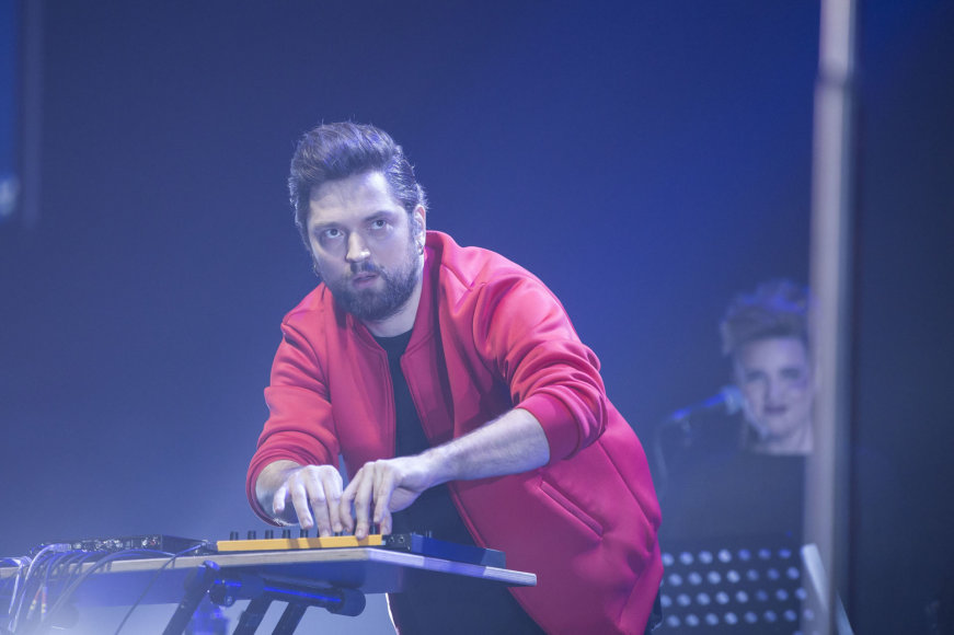 "Žygimanto Gedvilos / 15min nuotr./""Leon Somov & Jazzu"" koncerto ""Moments"" akimirka"